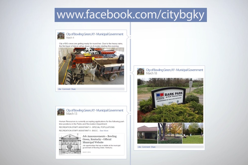 City of Bowling Green Social Media Promo