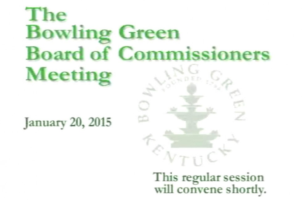 01-20-15 Board of Commissioners Regular Meeting