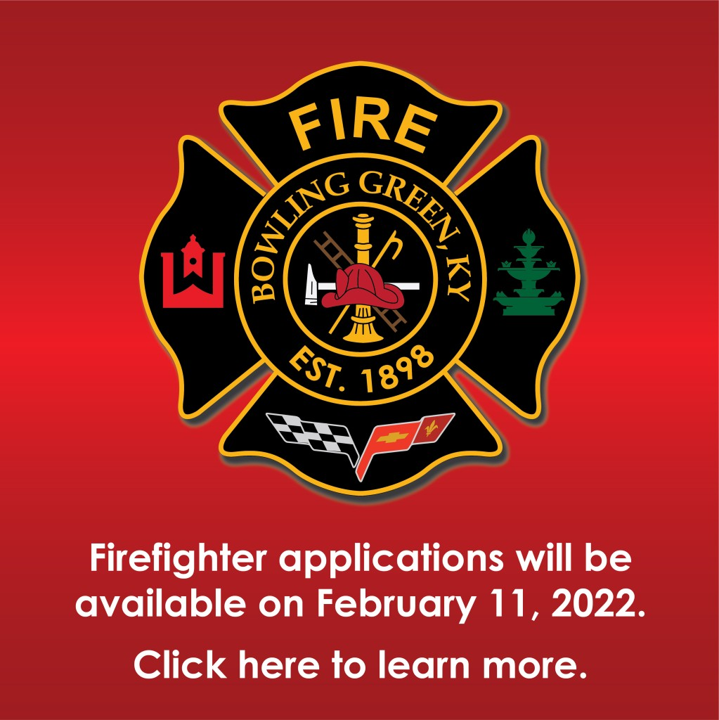Applications for Firefighters Coming Soon