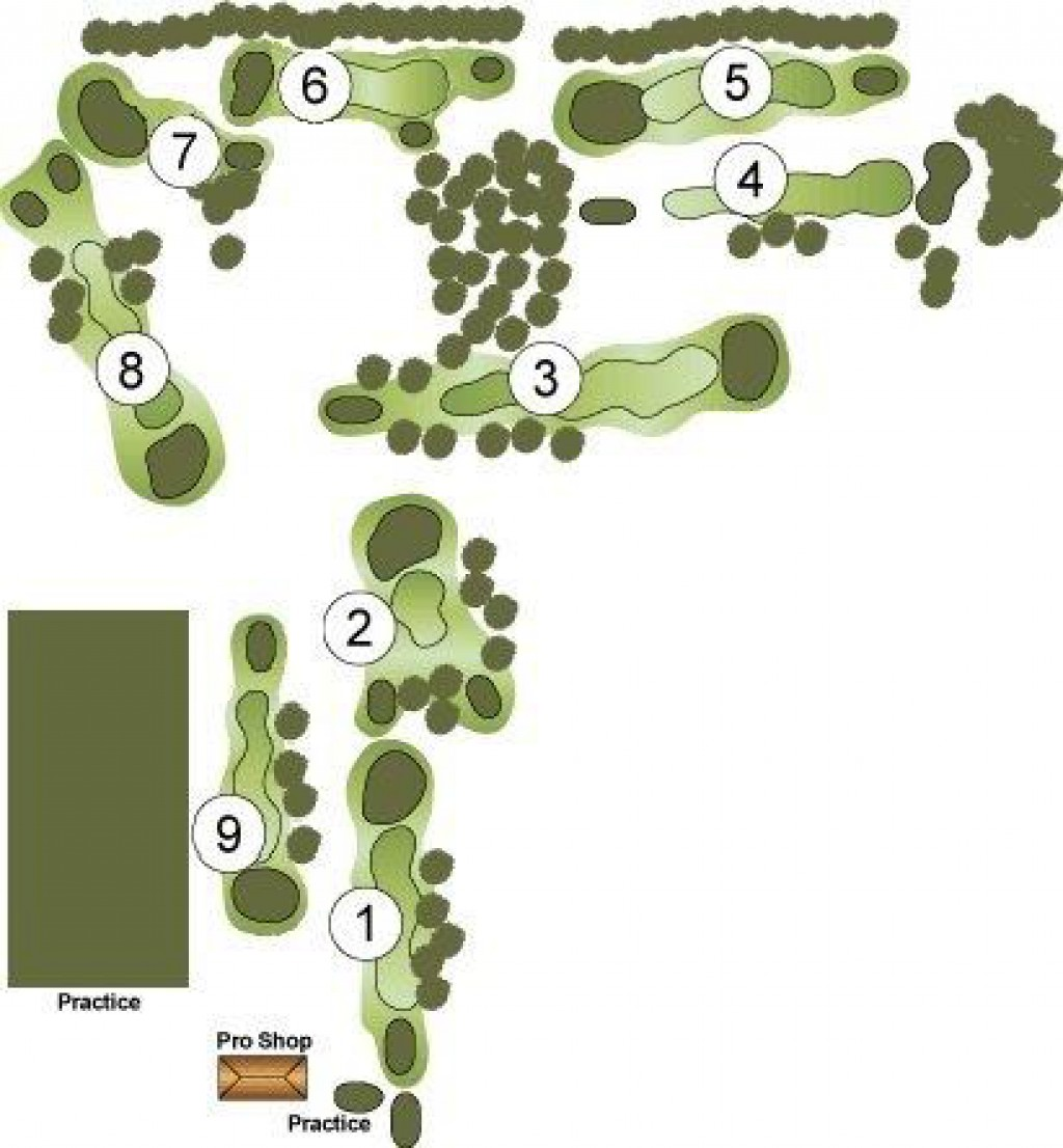 Hobson Grove Course Layout Map