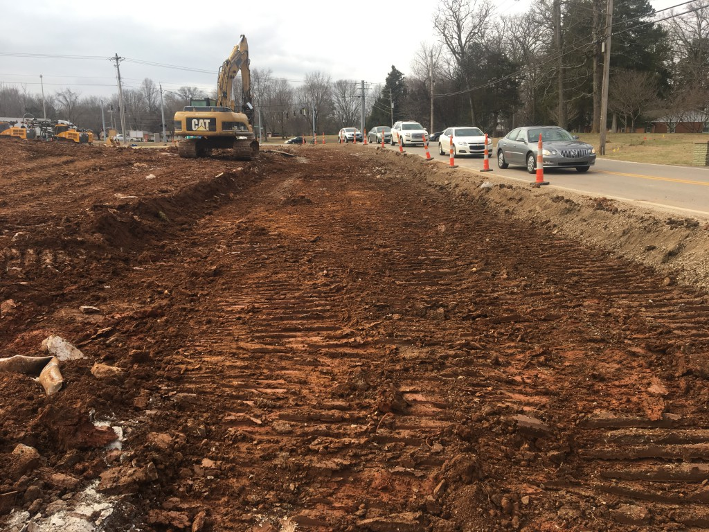 Smallhouse Road Project - Jan 27, 2016 - Smallhouse road looking south towards Campbell Lane