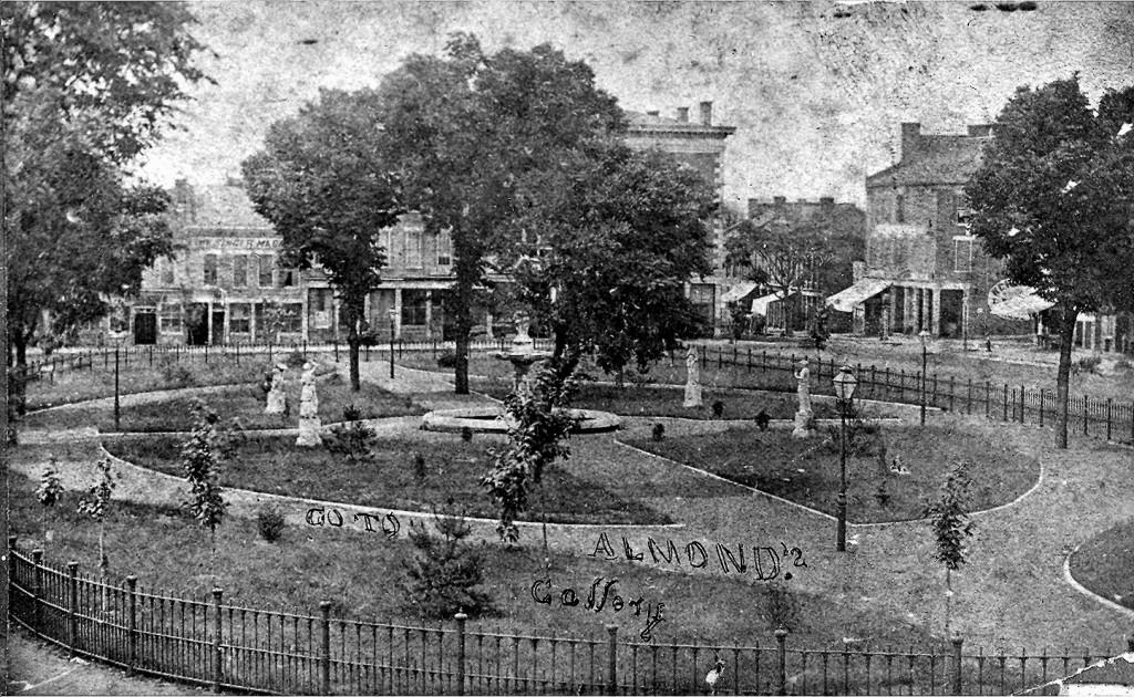 Fountain Square Park - 1876