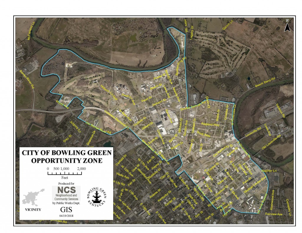 Bowling Green Opportunity Zone (Map)