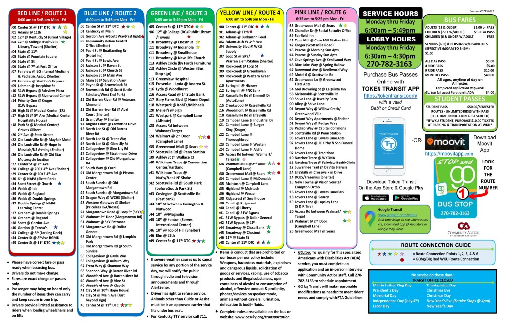 Preview - GO bg Transit Route Schedule