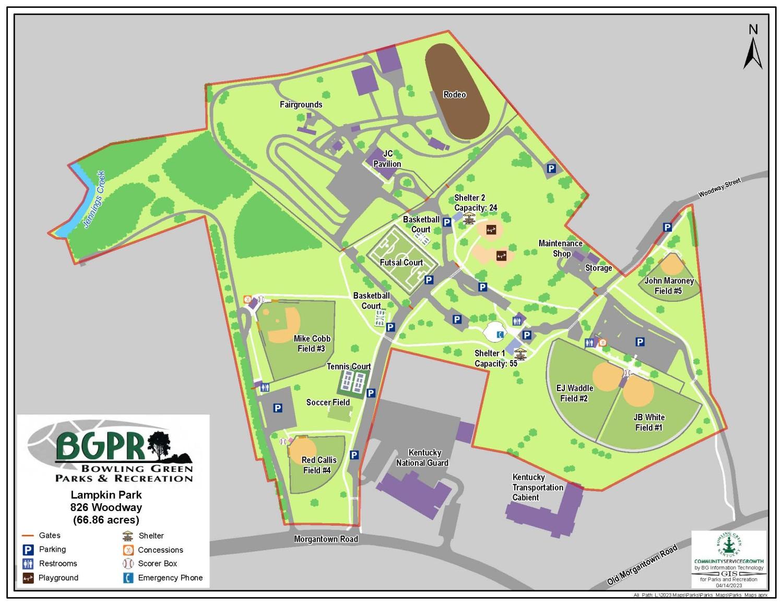 Lampkin Park CW Lampkin Park Parks Recreation Bowling