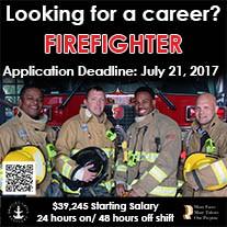 Firefighter Advertisement