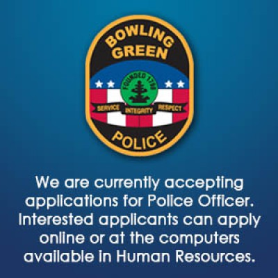 Now Accepting Applications for Police Officers