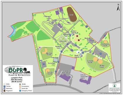 C.W. Lampkin Park - Map: Map