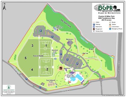 Preston Miller Park - Map: Map
