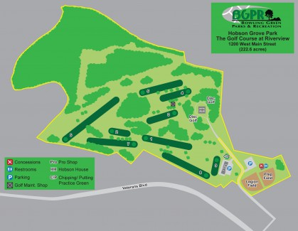 Hobson Grove Park - Map: Map