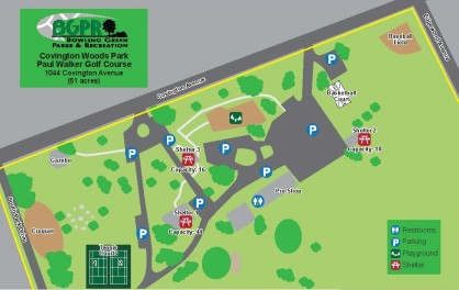Covington Woods Park - : Map