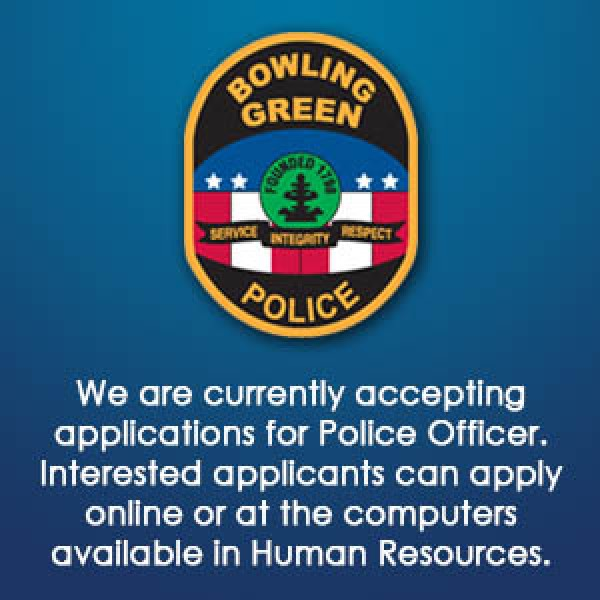 Now Hiring: Police Officers