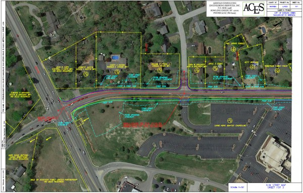 Strip Map (Sheet 1 of 3) - Smallhouse Road Widening Project