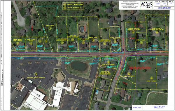 Strip Map (Sheet 2 of 3) - Smallhouse Road Widening Project