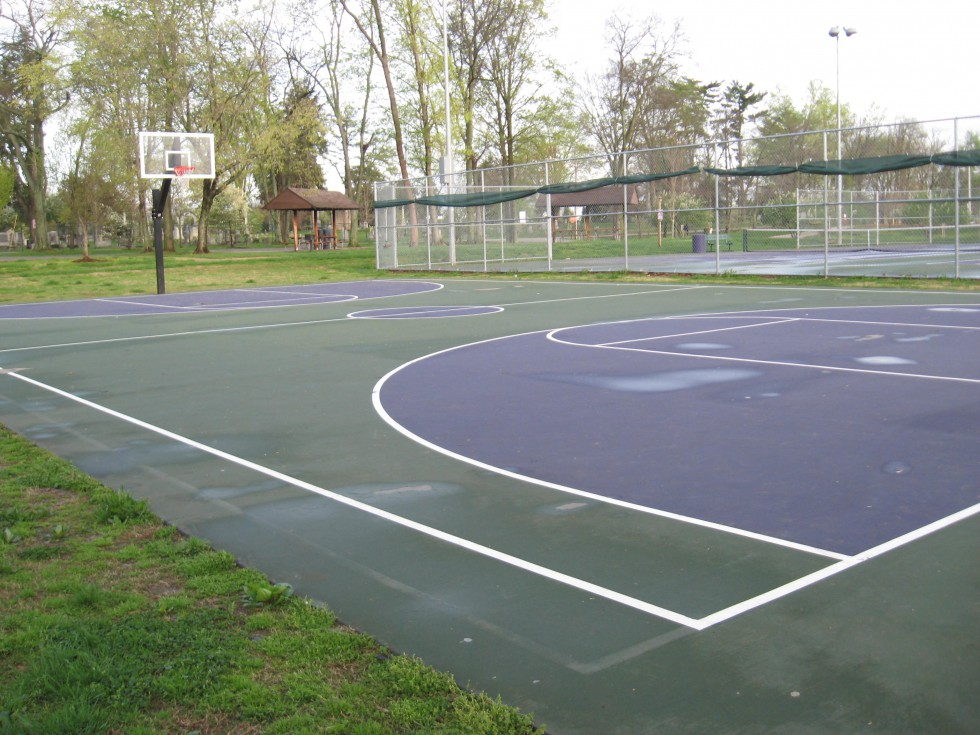 Basketball Court at Kereiakes Park