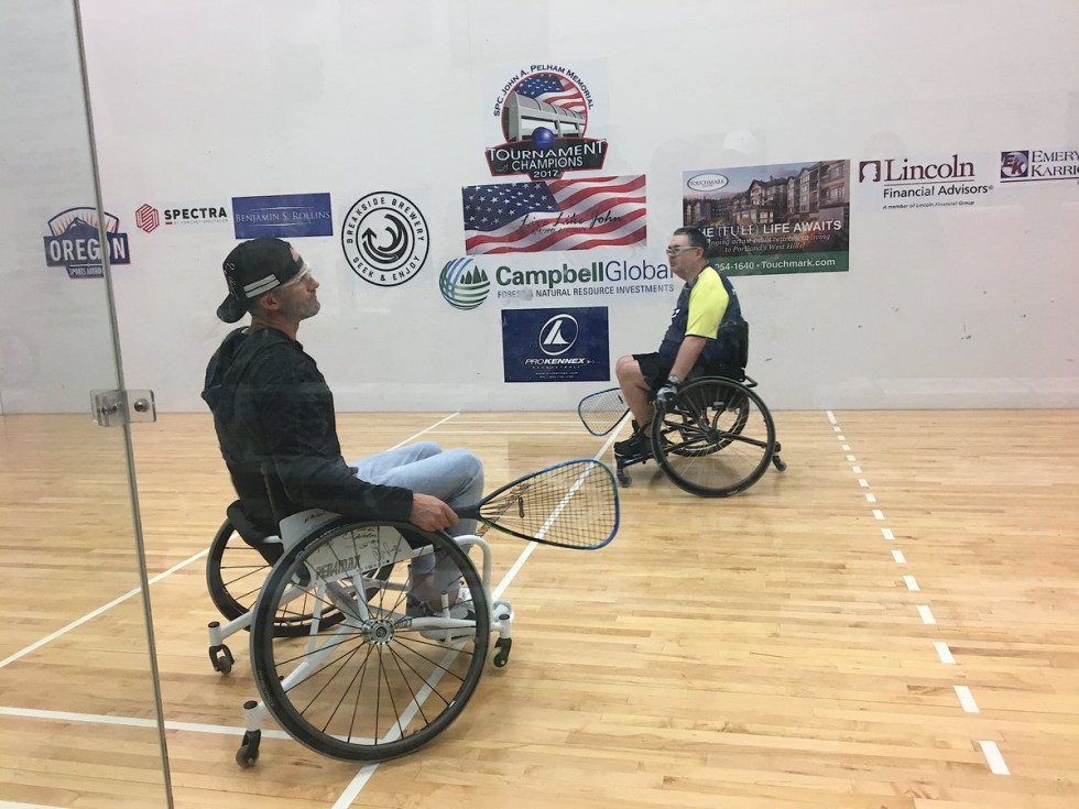 Wheelchair Racquetball Clinic