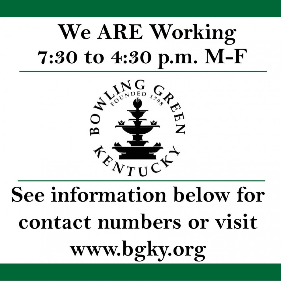 City of BG Contact Numbers