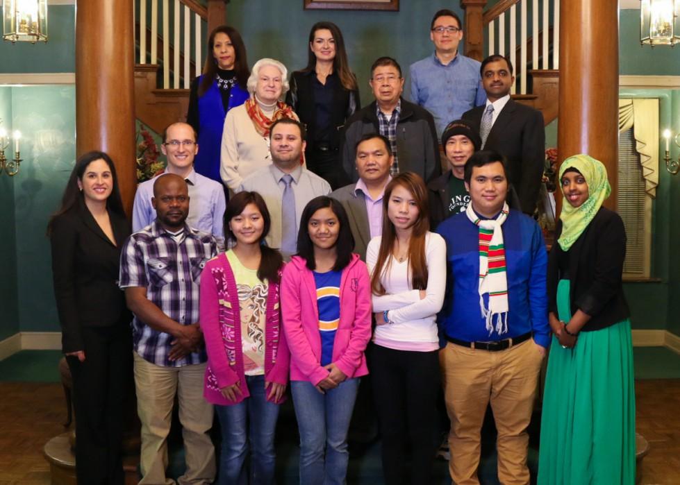 "Int'l Communities Advisory Council hosts City officials ""meet and greet"""