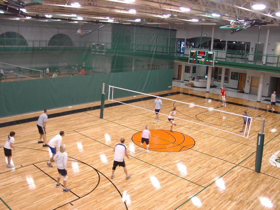 Adult Indoor Winter Volleyball
