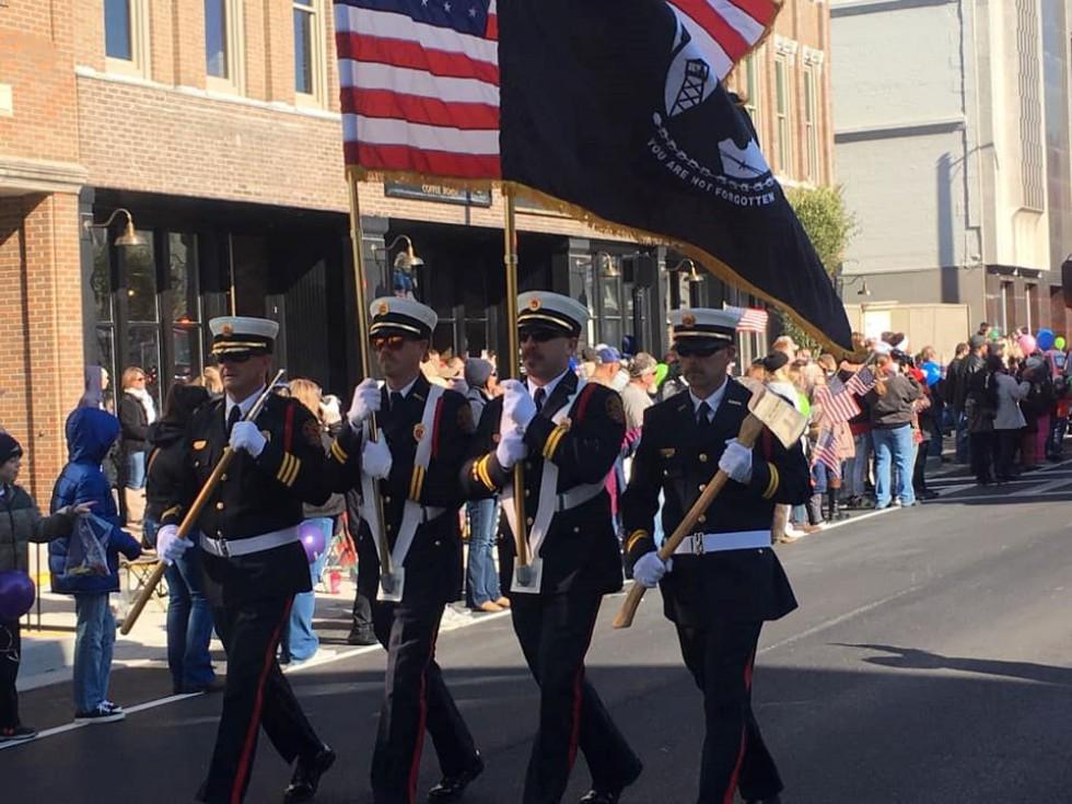 2021 Veterans Day Parade Entries