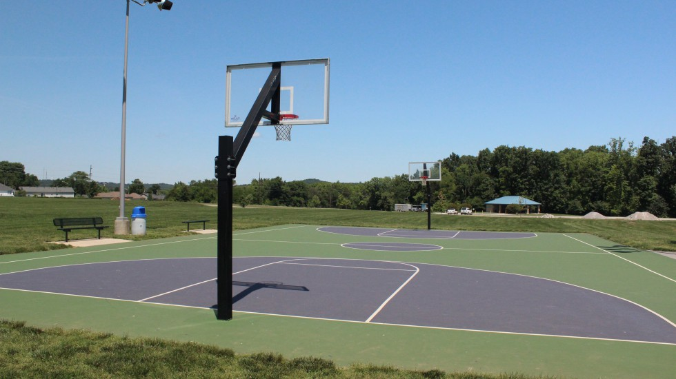Basketball Court at Preston Miller Park