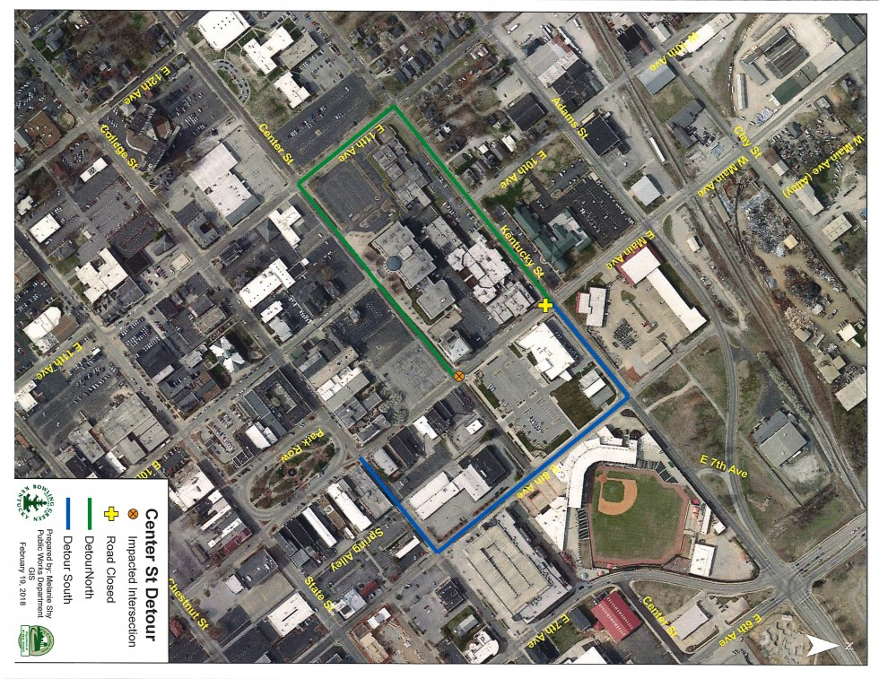 Work on Center Street to Begin