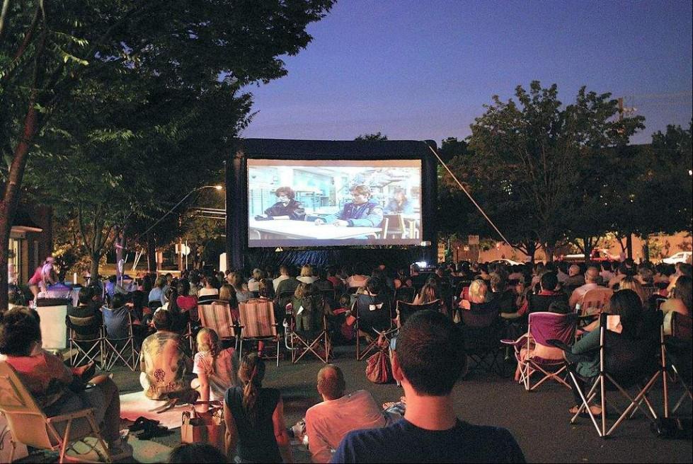 #BGGovToGo Block Party & Outdoor Movie on Blue Lake Way