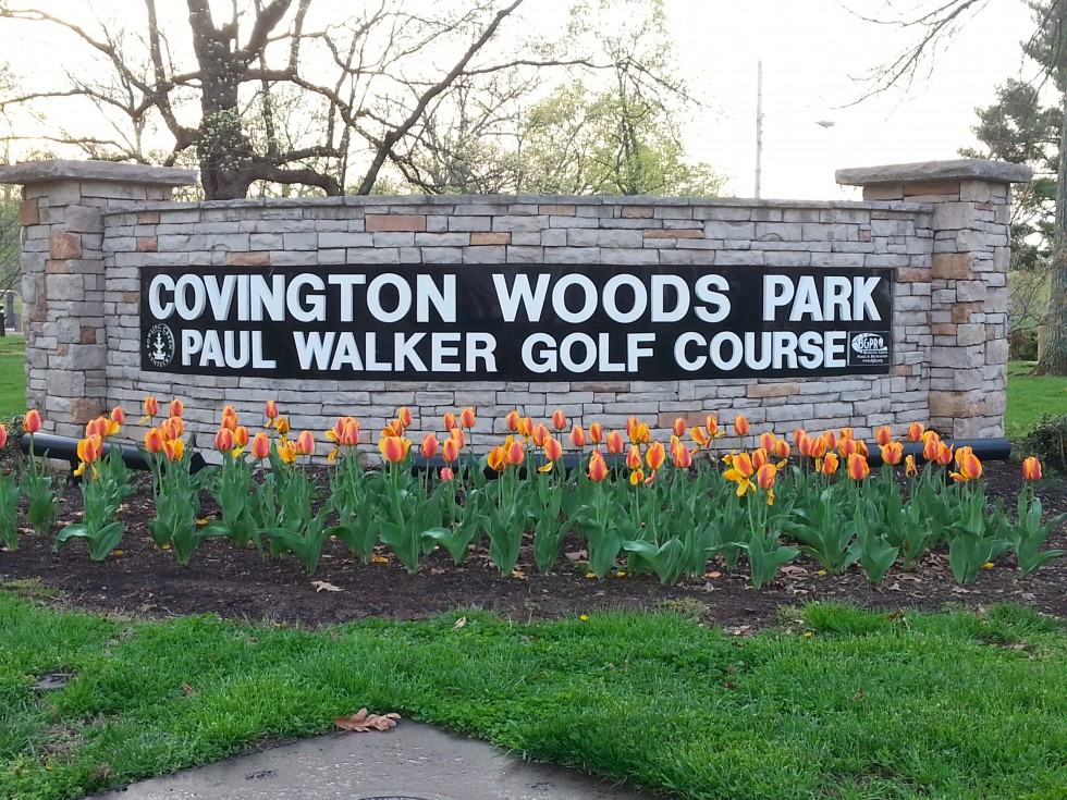 Covington Woods Park - Playground