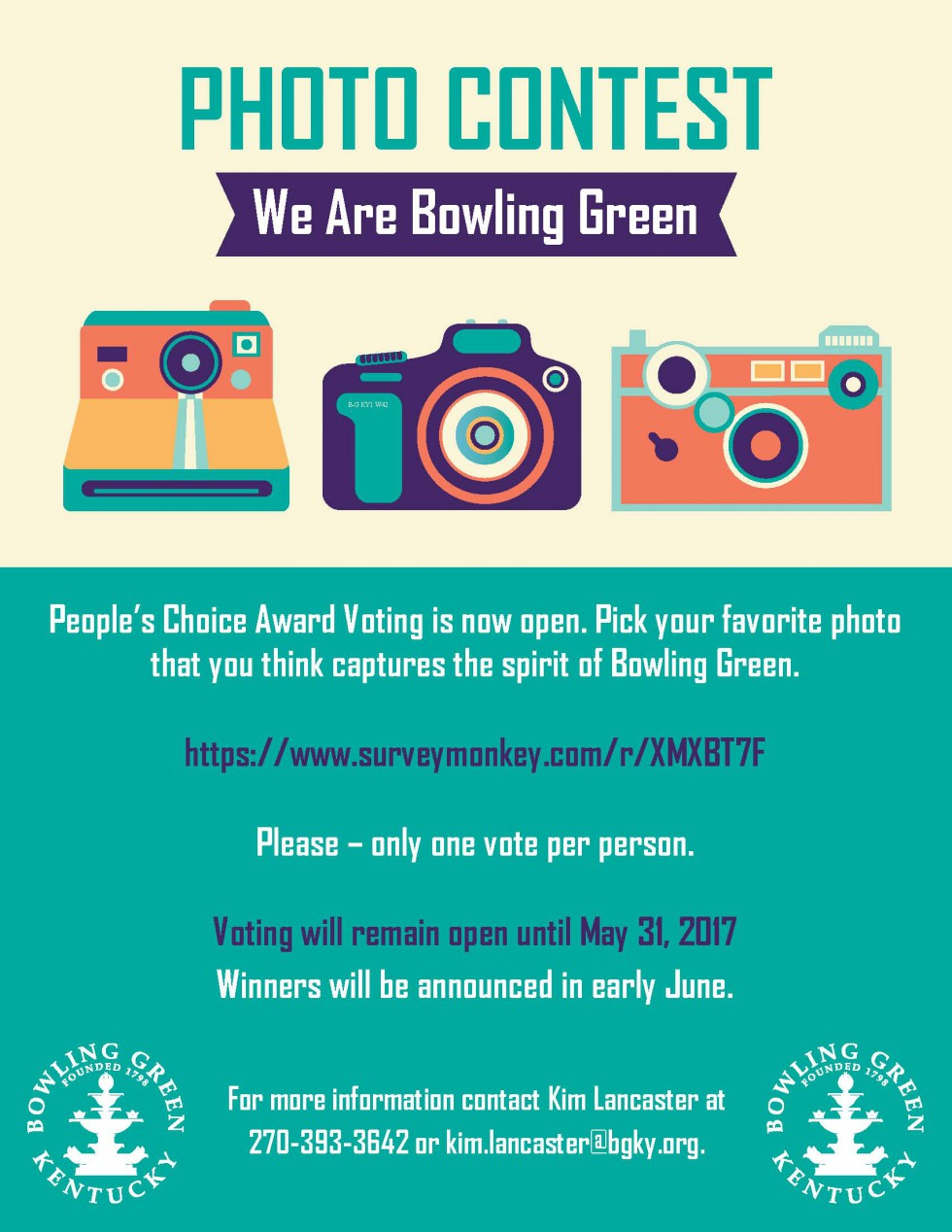 Vote Online Now for your Favorite We Are BG Photo Submission