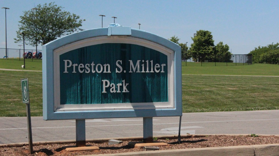 Construction at Preston Miller Park