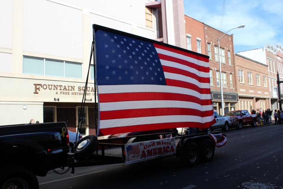 2018 Veterans Parade Entries