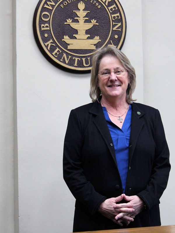 Commissioner Sue Parrigin