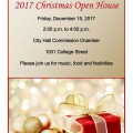 City Hall Christmas Open House
