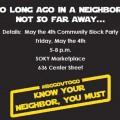 #BGGovToGo Kicks Off With May the 4th Community Block party