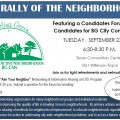 Neighborhood Group to Host Candidates Forum
