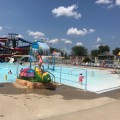 Russell Sims Aquatic Center Opening Day