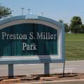 Construction at Preston Miller Park