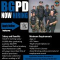 Now Hiring: Police Officer