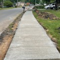 North Lee Drive Sidewalk Construction