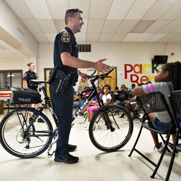 Police Department - Residents Against Drugs - Bicycle Registry - 2015