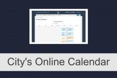 City's Online Calendar