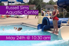 Russell Sims Aquatic Center Opening Day 2017