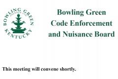 Code Enforcement & Nuisance Board Meeting 07/2/21