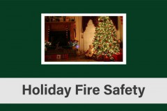 Holiday Fire Safety 2016