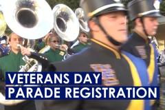 Veterans Day Parade Registration