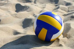 Fall Sand Volleyball
