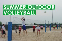 Outdoor Adult Volleyball