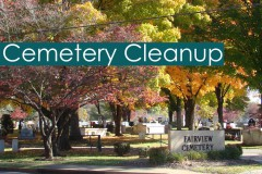 2017 Annual Cemetery Cleanup