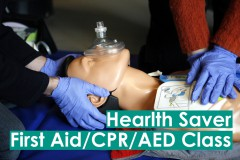First Aid/CPR/AED Certification Class