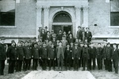 Bowling Green Police and Fire Departments with Mayor and City Officials Era 1900's
